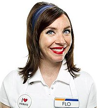 images of flo from progressive