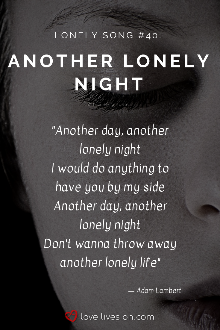 songs about feeling lonely