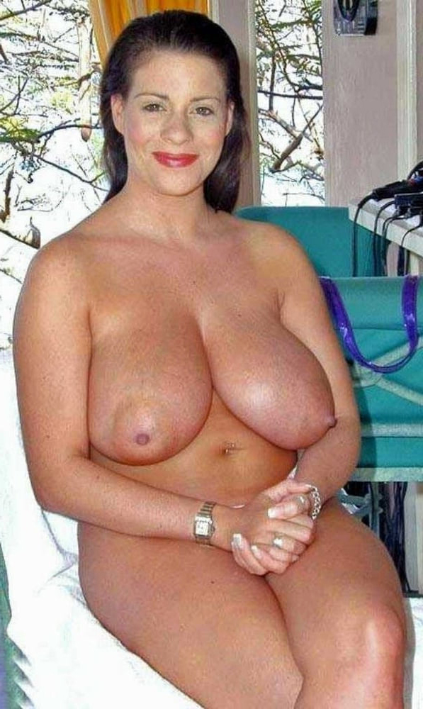 huge tits on mature naked women