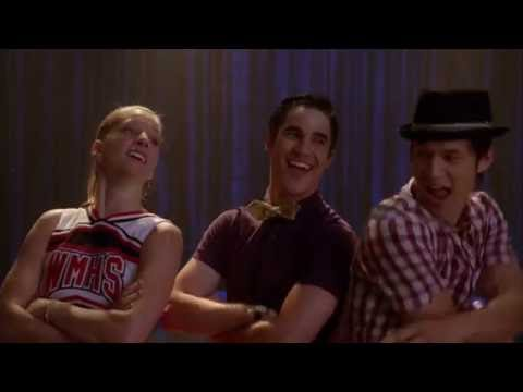 youtube glee i want to hold your hand